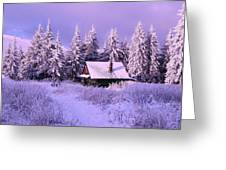 Alpine Hideaway Greeting Card