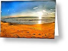 Amanecer Greeting Card