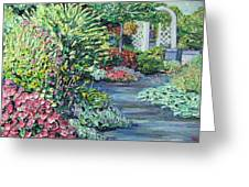 Amelia Park Pathway Greeting Card