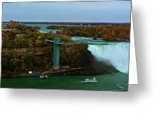 American Falls Niagara Greeting Card