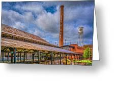 American Tobacco Campus Greeting Card