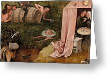 An Allegory Of Intemperance Greeting Card