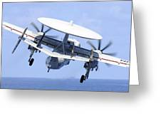 An E-2c Hawkeye Launches Greeting Card