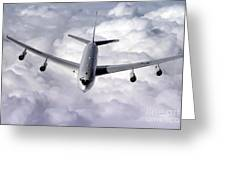 An E-8c Joint Surveillance Target Greeting Card