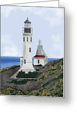 Anacapa Lighthouse California Greeting Card