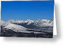 Anaktuvuk Pass Alaska Greeting Card
