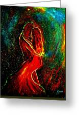 And They Danced Greeting Card