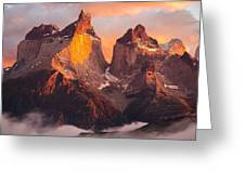Andes Mountains Greeting Card