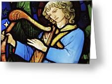 Angel Musician, 1881 Greeting Card