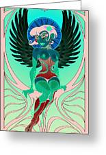Angelique Greeting Card by Cristina McAllister