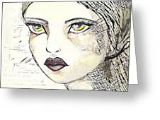 Annabel 2 Greeting Card