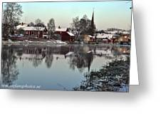 Arboga Town  Greeting Card