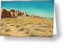 Arches 2 Greeting Card by Jan Amiss