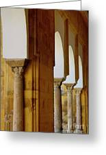 Arches Of The Patio De Los Naranjos In The Cathedral Of Cordoba Greeting Card