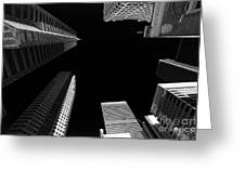 Architecture Black White  Greeting Card