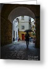 Arco De Los Blanco Cadiz Spain Greeting Card