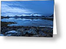Arctic Reflections Greeting Card