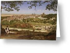 Ariccia, Near Rome, Italy Greeting Card