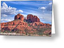 Arizona-sedona-red Rock State Park Greeting Card