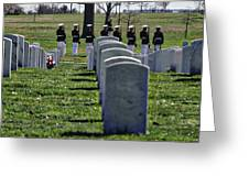 Arlington Cemetery Washington Dc Usa Greeting Card