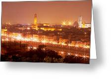 Arno River Florence Italy Greeting Card