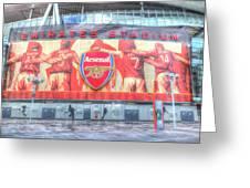 Arsenal Football Club Emirates Stadium London Greeting Card