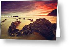 Art Of Landscape Greeting Card