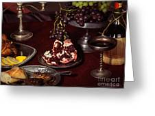 Artistic Food Still Life Greeting Card