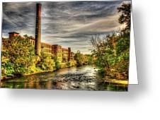 Ashton Mill, Cumberland, Ri Greeting Card