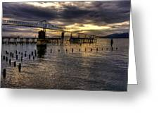 Astoria-megler Bridge 5 Greeting Card