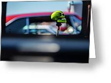 At The Car Show Greeting Card