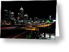Atlanta Expressway Greeting Card
