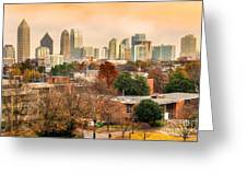 Atlanta - Georgia - Usa Greeting Card
