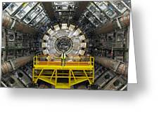 Atlas Detector, Cern Greeting Card