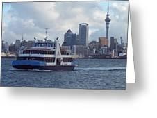 New Zealand - Devonport Ferry Greeting Card