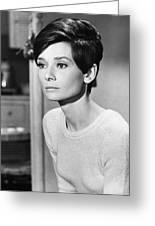 Audrey Hepburn (1929-1993) Greeting Card by Granger