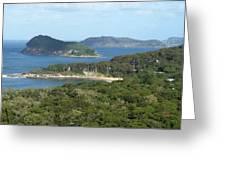 Australia - Broken Bay's Lion Island Greeting Card