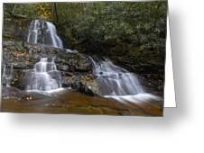 Autumn At Laurel Falls Greeting Card