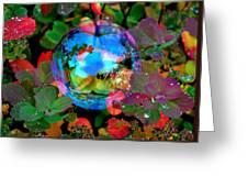 Autumn Bubble Greeting Card