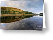 Autumn Derwent Reservoir Derbyshire Peak District Greeting Card