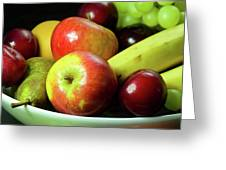 Autumn Fruit. Greeting Card
