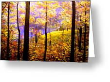 Autumn Impression Greeting Card