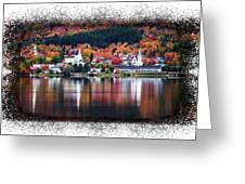 Autumn In Vermont Greeting Card