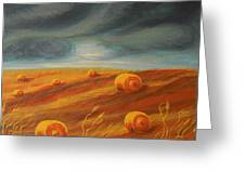 Autumn Storm Greeting Card
