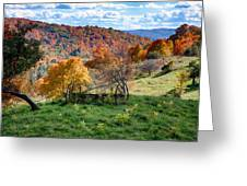 Autumn This Side Of Heaven Greeting Card