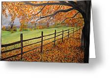 Autumn Vista Virginia Greeting Card