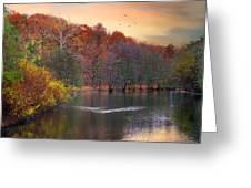 Autumn's Allure Greeting Card
