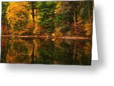 Autumns Calm Greeting Card
