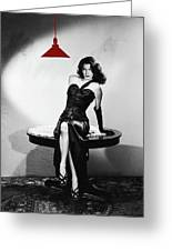 Ava Gardner Film Noir Classic The Killers 1946-2015 Greeting Card