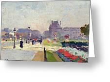 Avenue Paul Deroulede Greeting Card